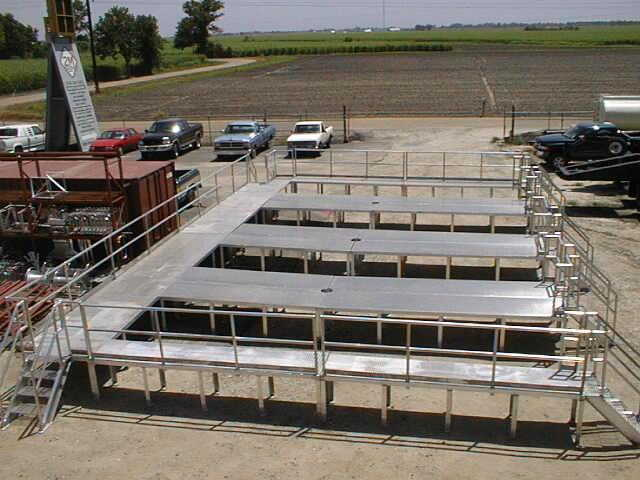 Aluminum Catwalks | 2m Oilfield Group
