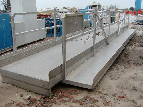 aluminum bridge | industrial rental